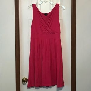 SALE Lands' End Banded Waist Fit and Flare Dress